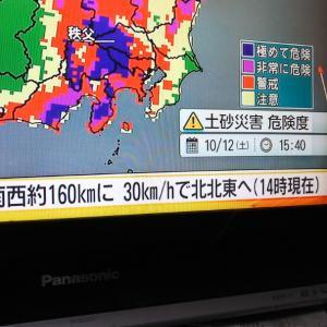 台風一過の金川公園❗️