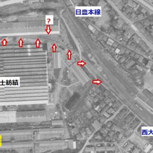 富士紡績大分工場専用線