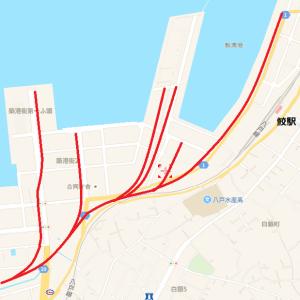 青森県公共臨港線(鮫駅分岐)【前編】