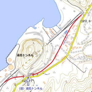 東北本線旧線(浅虫~野内)②