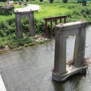 国道349号線幸久橋跡