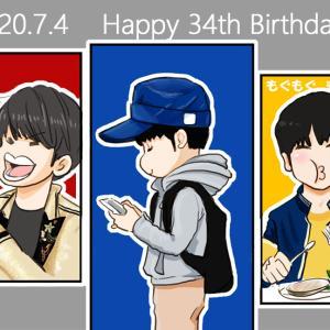 【増田貴久サン】 34歳のお誕生日おめでとうございます!
