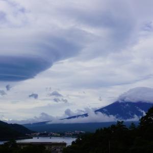 つるし雲 富士山  Mt.Fuji 2020/07/28