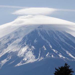 笠雲 富士山 Mt.Fuji 2019/02/15