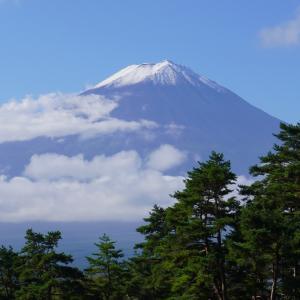 冠雪 富士山 Mt.Fuji 2021/09/27 ※初冠雪が9/7➡9/26に見直されました♪
