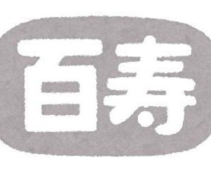 日本国内に住む100歳以上は何人いるのか?