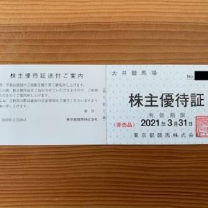 東京都競馬の株主優待 大井競馬場と東京サマーランドで使える優待券
