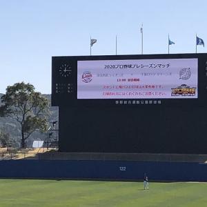 2020 阪神 二軍キャンプ(安芸市営球場)、2020年 西武キャンプ(高知県立春野総合運動公園野球場)