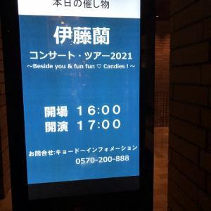伊藤蘭コンサート・ツアー2021 ~Beside you & fun fun ♡ Candies!~ (フェスティバルホール)