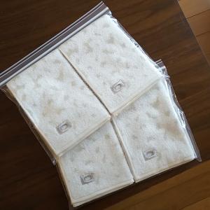 洗面所の手拭きタオルをリニューアル