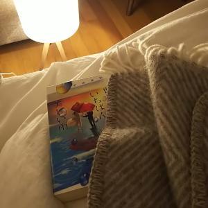 寝る前の読書はソファーよりベッドで