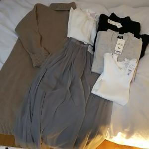 お気に入りの洋服が増えました。