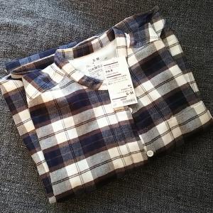 お気に入りの無印パジャマを買い足し