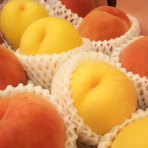桃のサラダが大好きだ