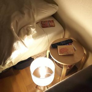 ランプを移動して夜の時間を楽しむ
