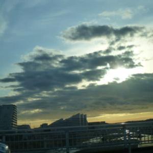 #雲が多いある日