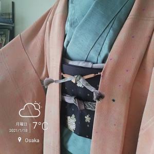 おさんぽがてら千kimonoさんまで