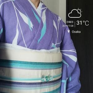 阿波しじらで京都へ