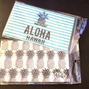 ハワイらしいデザインのマスク・ケース