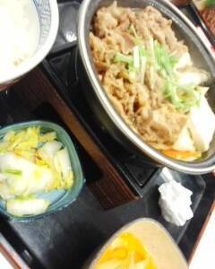 牛すき鍋膳・膳・膳
