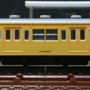 モハ100-210[ツヌ116F] 動力ユニット整備 (段付加速解消:モーター軸受部注油,導電板・台車集電板研磨施工) ※旧製品