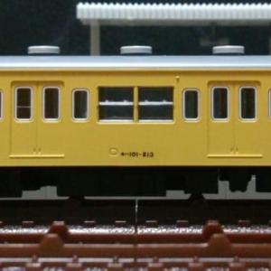 モハ101-213[ツヌ116F] 車体改修 (ウエイト防錆対策,2-4位側車両番号標記修正転写施工) ※旧製品