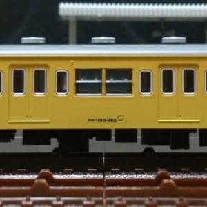 クモハ100-162[ツヌ116F] 前面窓濃灰色Hゴム支持化,DT21非動力台車交換施工 ※旧製品
