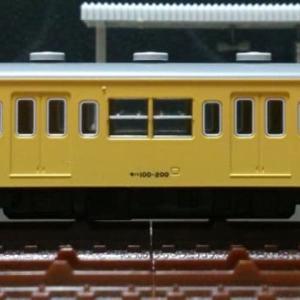 モハ100-200[ツヌ104F] 動力ユニット整備 (加減速度改善:モーター用マグネット位置修正施工) ※'旧製品