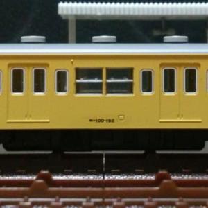 モハ100-192[ツヌ123F] 車体改修 (車体分解清掃,2エンド側車体湾曲修正施工) ※'旧製品