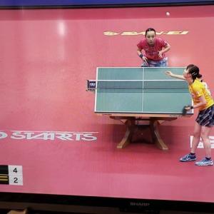2020年前日本卓球選手権 女子準決勝・・の件