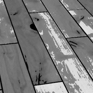 フローリングの床からあの世の環境音