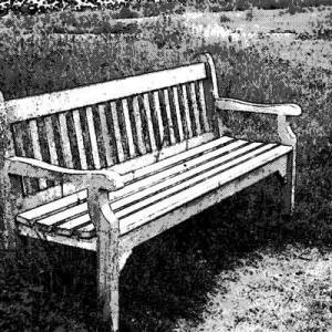 ベンチに腰掛けていたはずが・・・