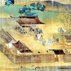 大河・かこがわ(96) 平安時代(7) 教信(寺)の話(7)・「一遍上人絵伝」に描かれた教信寺