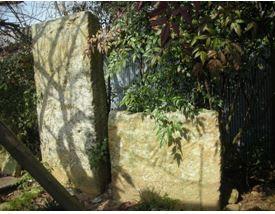 大河・かこがわ(173) 中世の石造物(15)・西山(加古川市平荘町)の板碑