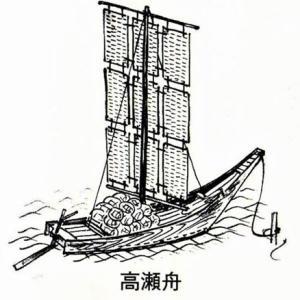 大河・かこがわ(211) 江戸時代(6) 近世の高砂(6)・高瀬舟が運んだもの