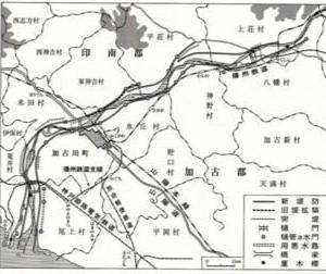 新ひろかずのブログ(25) 加古川大改修(11)、加古川の水害(4)・改修工事進む