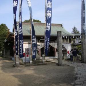 加古川町旧鳩里村探検(3) 木村(2)・潮風の似合う神社(泊神社)