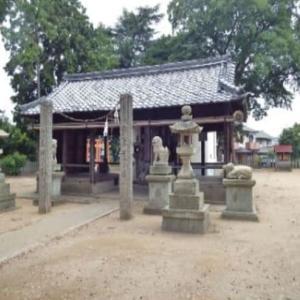 加古川町旧鳩里村探検(5) 木村(5)・泊神社と米田天神社