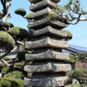 加古川町旧鳩里村探検(13) 稲屋・友沢(2)・福田寺(稲屋)の層塔