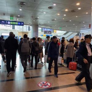 久しぶりのソウルです 3日目 vol.1 釜山と違って空港までがしんどいぜ(笑)