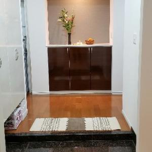 「玄関だけ」大掃除(;^_^A。。マット新調しました♪