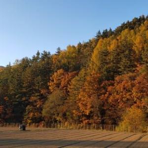 10月29日 八ヶ岳方面に