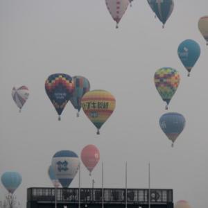 11月3日気球待ち伏せしたけど。
