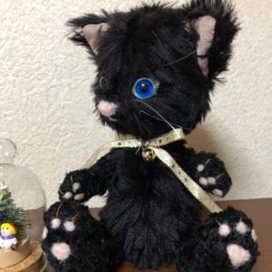 生徒さんの作品 旅する黒猫