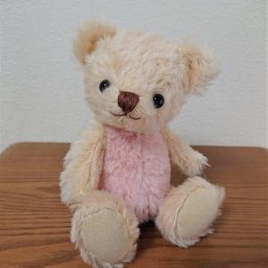 生徒さんの作品 ピンクの赤ちゃんベア