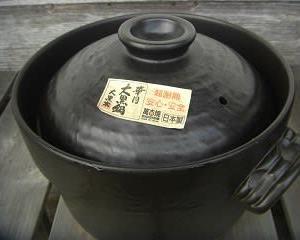 土鍋のすすめ ~萬古焼で土鍋ご飯