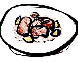 おうち食堂! トマト味の煮込み肉