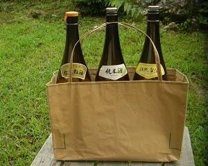 りんごじょうさんの 米袋バッグ「お袋さん」~今回のみ
