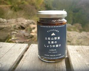 夢産地とさやま開発公社の 土佐山野菜生姜のしょうゆ漬け
