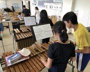 高学年の器楽練習